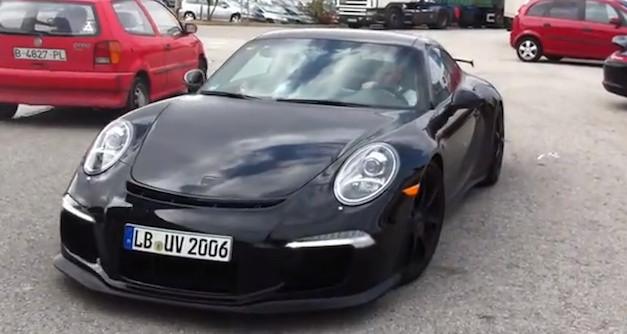 Porsche 911 GT3 Prototype