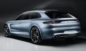 Porsche Panamera Sport Turismo Concept Rear 3/4 View