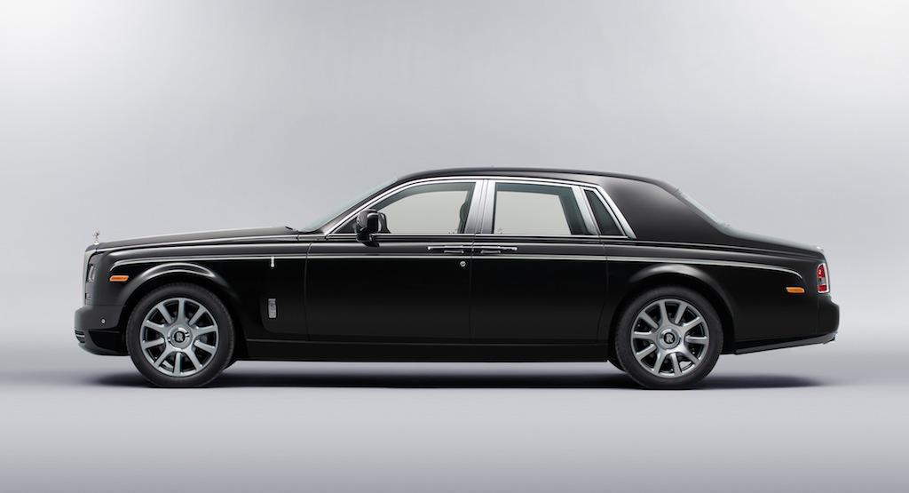 Rolls Royce Phantom Art Deco Side View Egmcartech