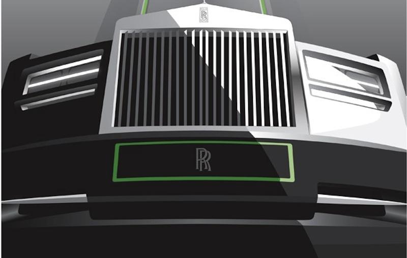 Rolls-Royce Deco Art Grille
