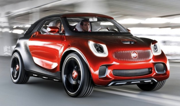 Smart ForStars Concept is an electric &#8216;Sports Utility Coupe&#8217;