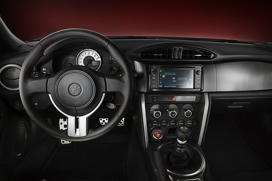 TRD Toyota GT86 Performance Line Kit Interior - egmCarTech