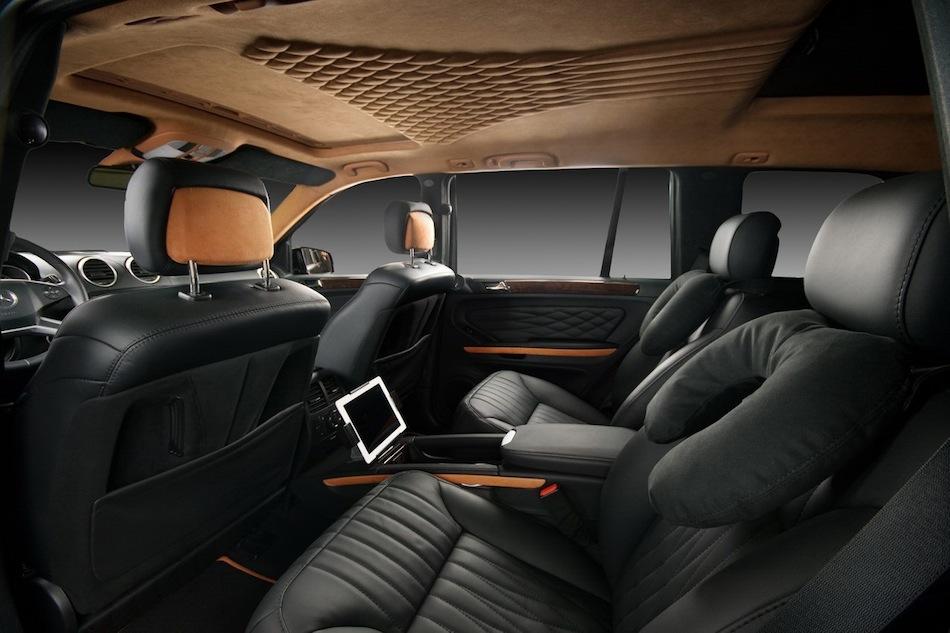 Vilner Mercedes-Benz GL Rear Seats