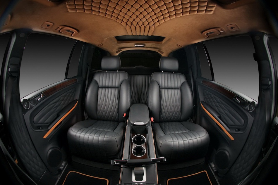 Vilner mercedes benz gl rear captain seats egmcartech for Custom automotive interior designs