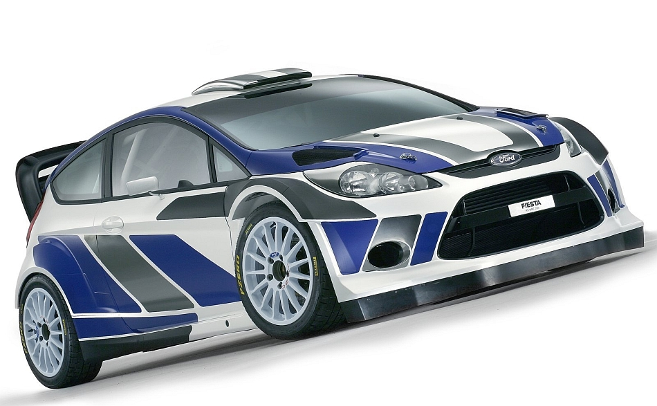 2011 Ford Fiesta RS WRC Front 3-4 Right