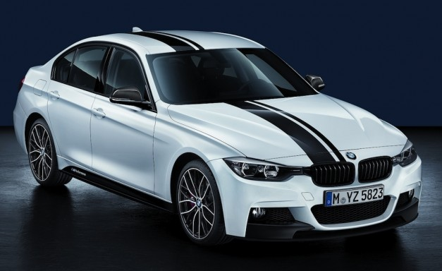 2012 Paris Report: BMW unveils M Performance packages for Europe's 1-, 3-, and 5-Series