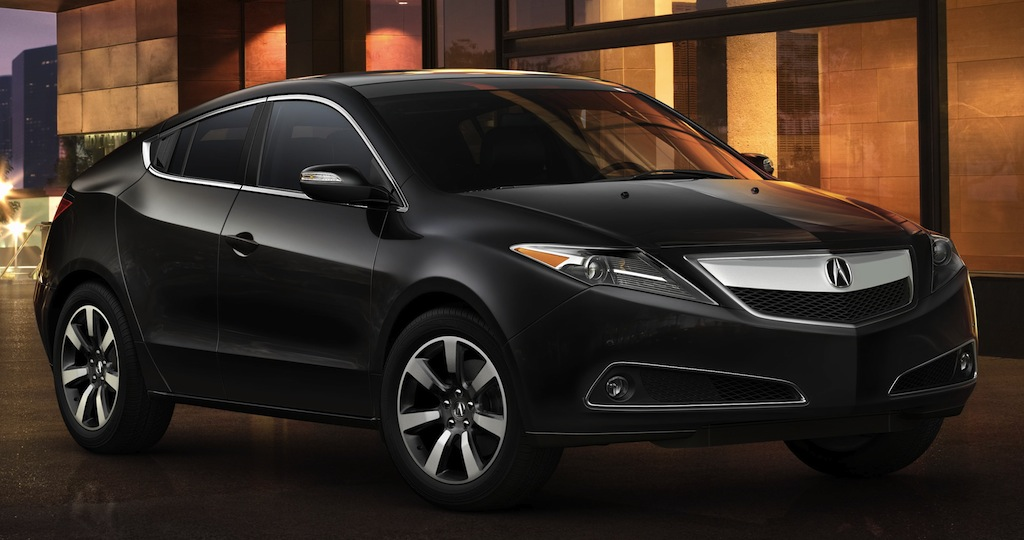 2013 Acura ZDX Front 3/4 View