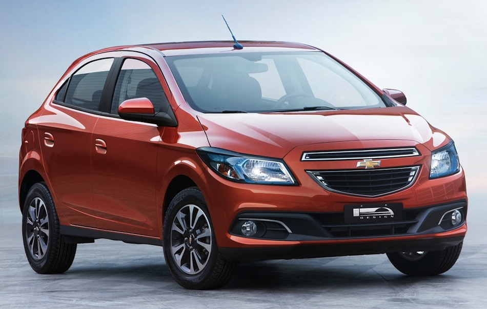 2013 Chevrolet Onix Front 3/4 View