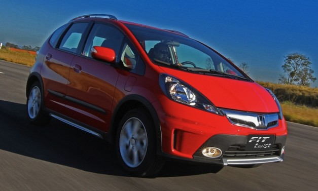 Honda Fit Twist is a rugged compact for Brazil