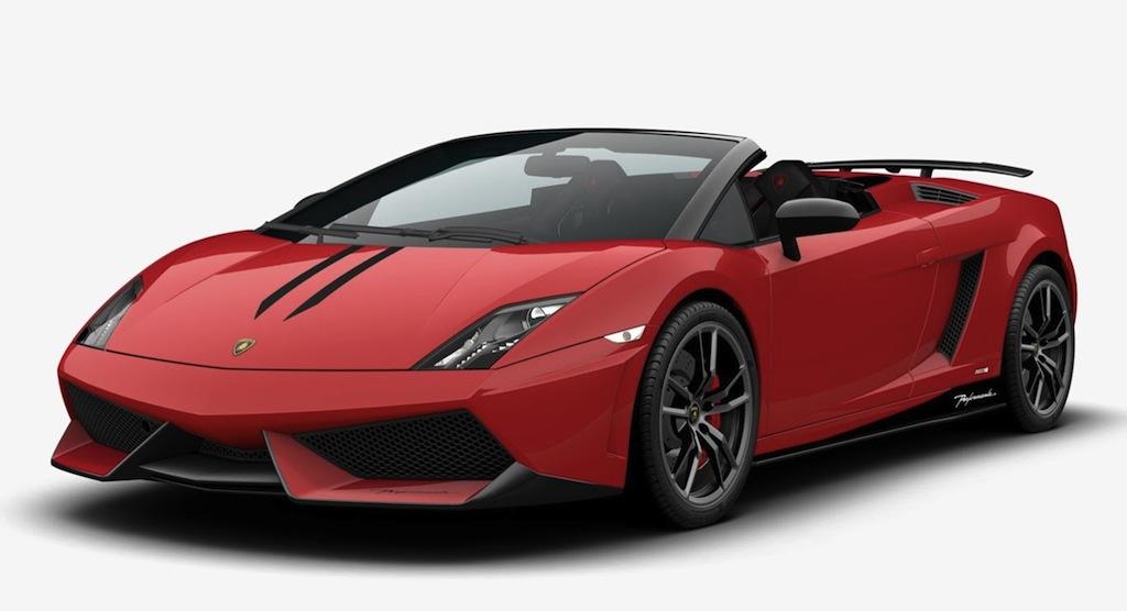2013 Lamborghini Gallardo Spyder Front 3/4 Red