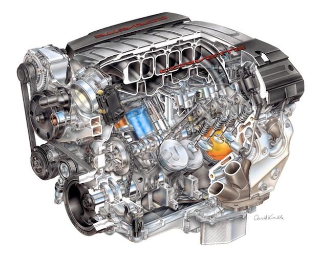 2014 Chevrolet Corvette LT1 6.2 liter V8