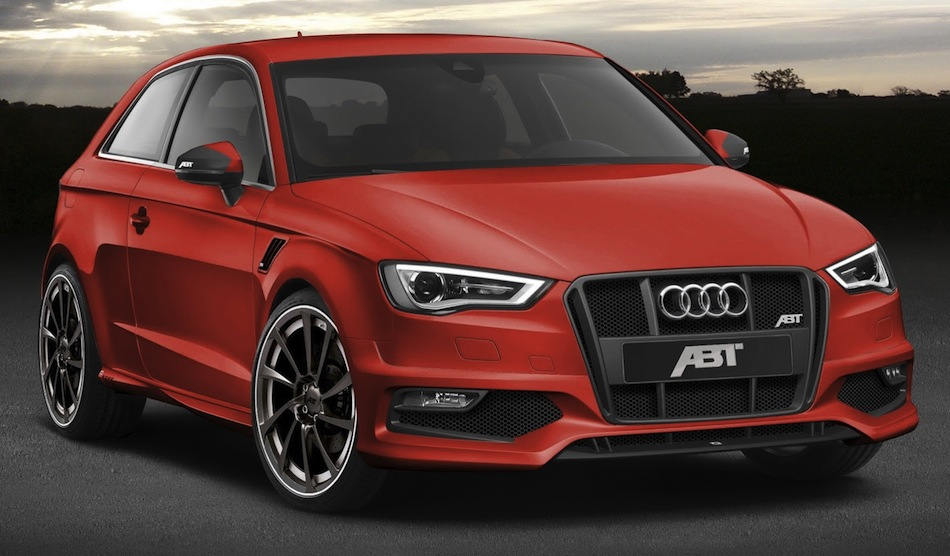 ABT Sportsline Audi AS3 Front 3/4 View Red