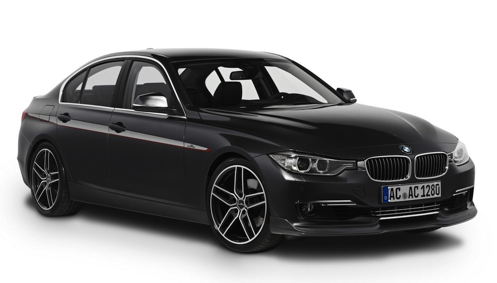 ac schnitzer bmw 3 series black front 7 8 angle egmcartech. Black Bedroom Furniture Sets. Home Design Ideas