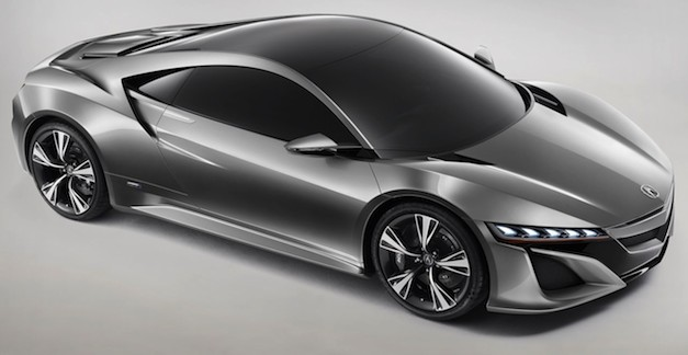 Report: Production Acura NSX to debut at the 2013 Detroit Auto Show