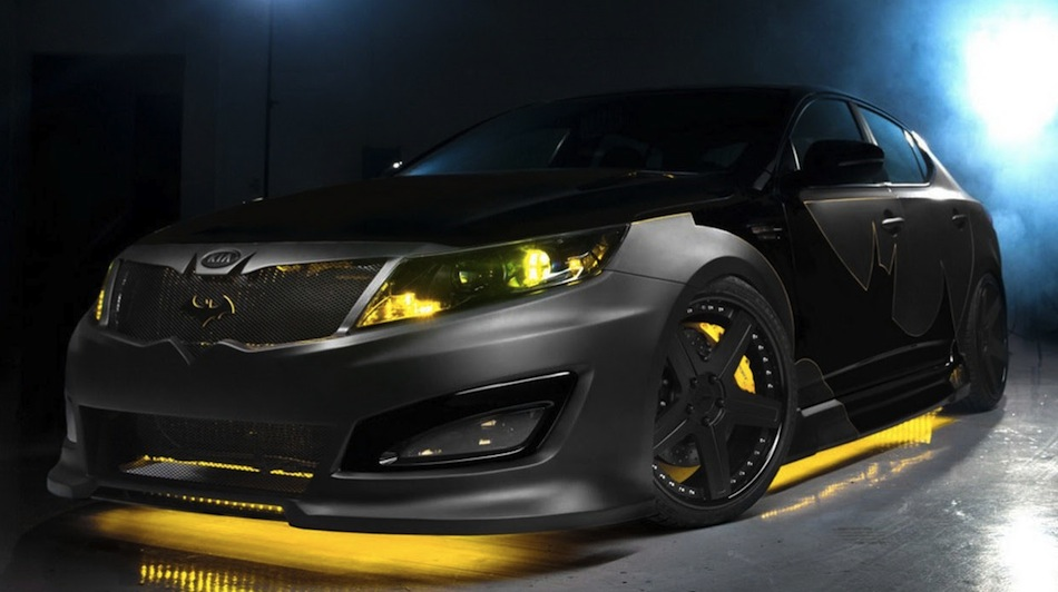 Batman Kia Optima Front 3/4 Angle