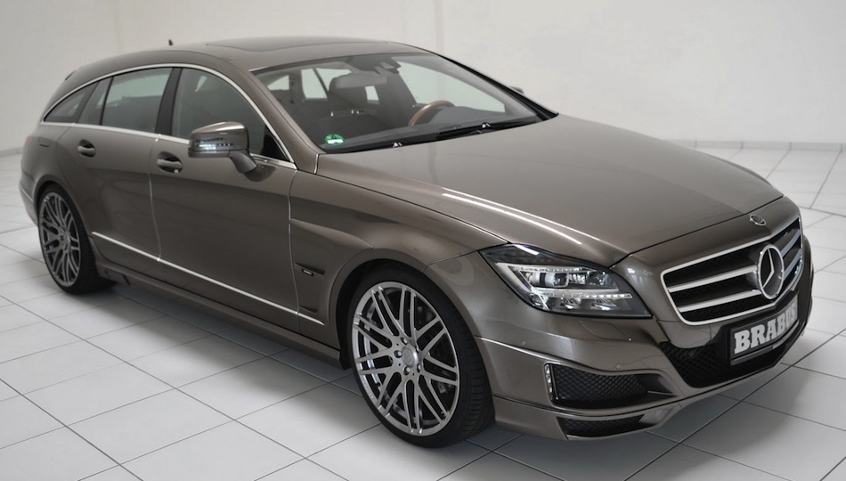 BRABUS Mercedes-Benz CLS Shooting Brake Front Angle Shot