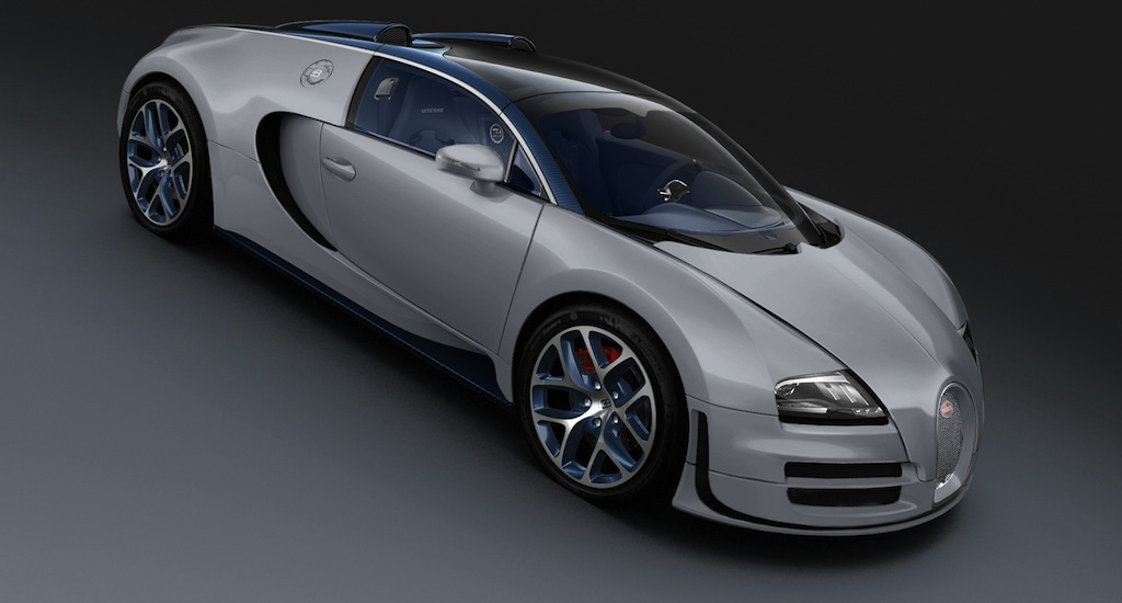 bugatti veyron 16 4 grand sport vitesse rafale front quarter view egmcartech. Black Bedroom Furniture Sets. Home Design Ideas