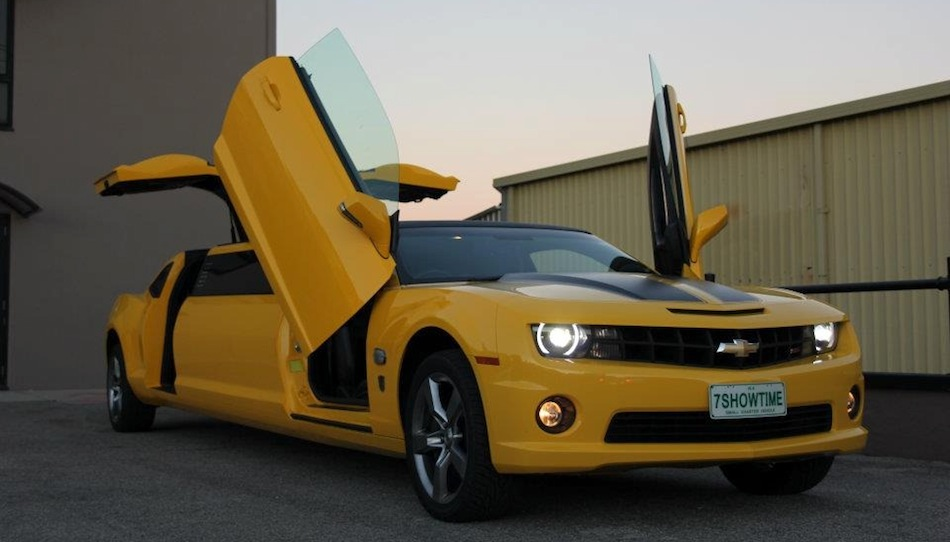Chevrolet Camaro SS Transformers Special Edition Limo Main