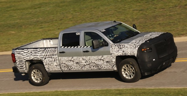 2014 Chevy Silverado Spy Shot