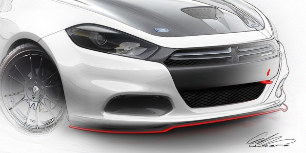 Mopar to show more than 20 models at 2012 SEMA, shows sketches
