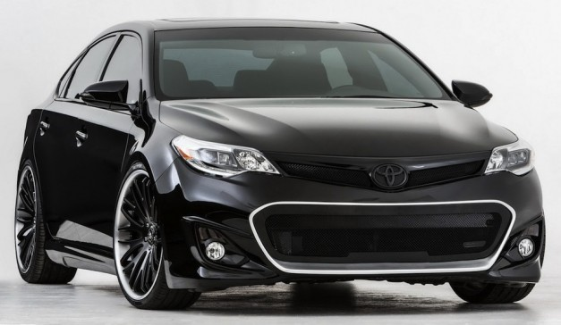 DUB Magazine gives the 2013 Toyota Avalon some attitude for 2012 SEMA Show