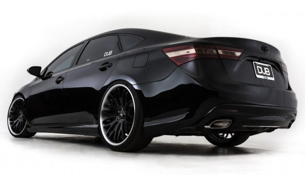 2013 DUB Magazine Toyota Avalon Rear Angle Shot