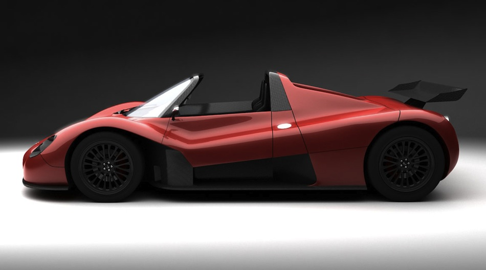 Ermini Sports Car Side View Egmcartech