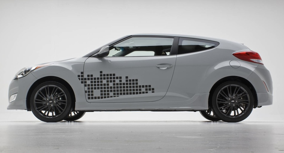 2013 hyundai veloster re mix side view egmcartech. Black Bedroom Furniture Sets. Home Design Ideas