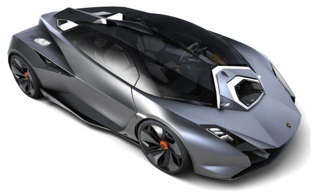 Bugatti Veyron Going Back To The Future Art Promo: Independent Design Student Creates Lamborghini Perdigon