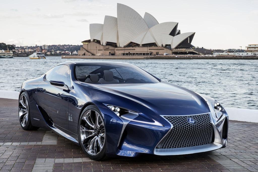 Lexus LF-LC Blue Concept Sydney