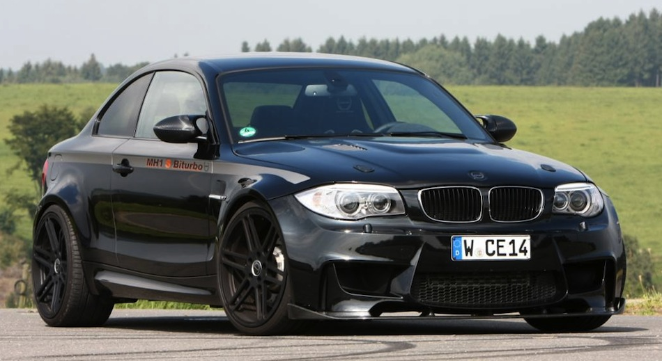 Manhart MH1 S Biturbo BMW 1 M Coupe Front 3/4 View