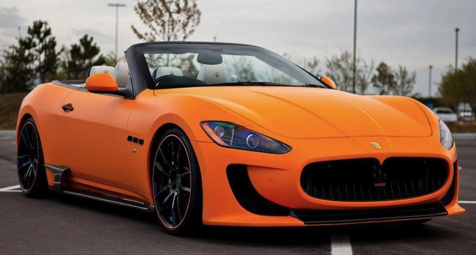 DMC Maserati GranCabrio Sovrano Front 3/4 View