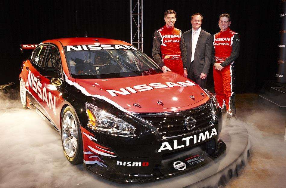 2013 Nissan Altima V8 Supercar Front 3/4