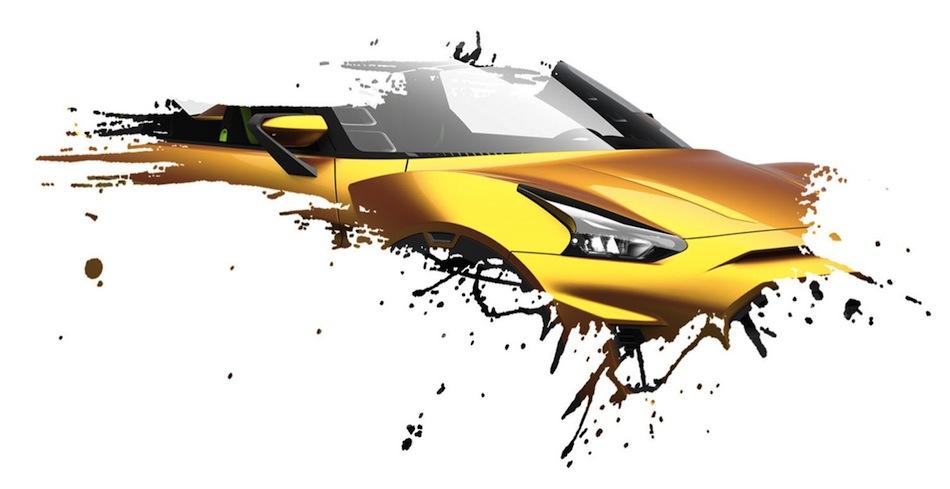 Nissan Brazil Concept Teaser Front