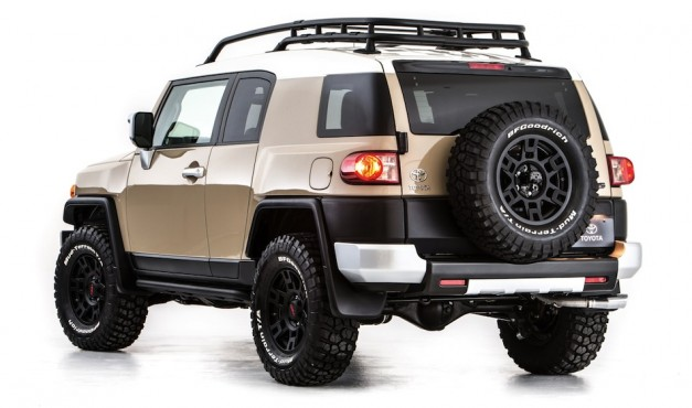 TRD FJ Cruiser Concept Rear 3/4 View