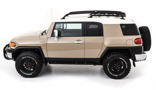 TRD FJ Cruiser Concept Side View