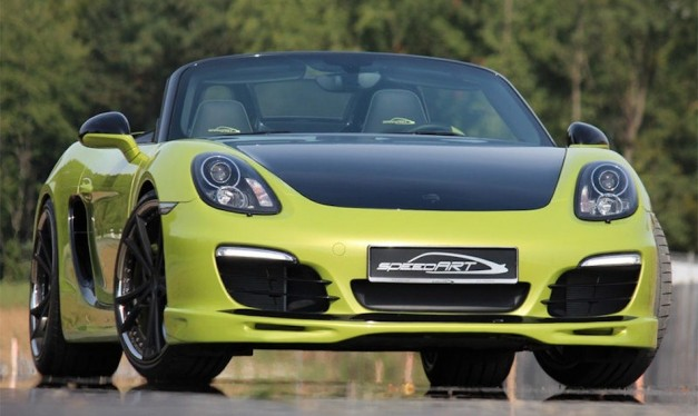 SpeedART Porsche Boxster SP81-R tuning package adds power and looks
