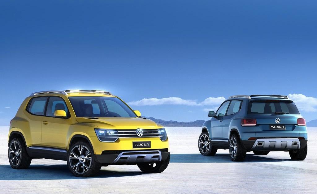 Volkswagen Taigun Concept Front/Back View