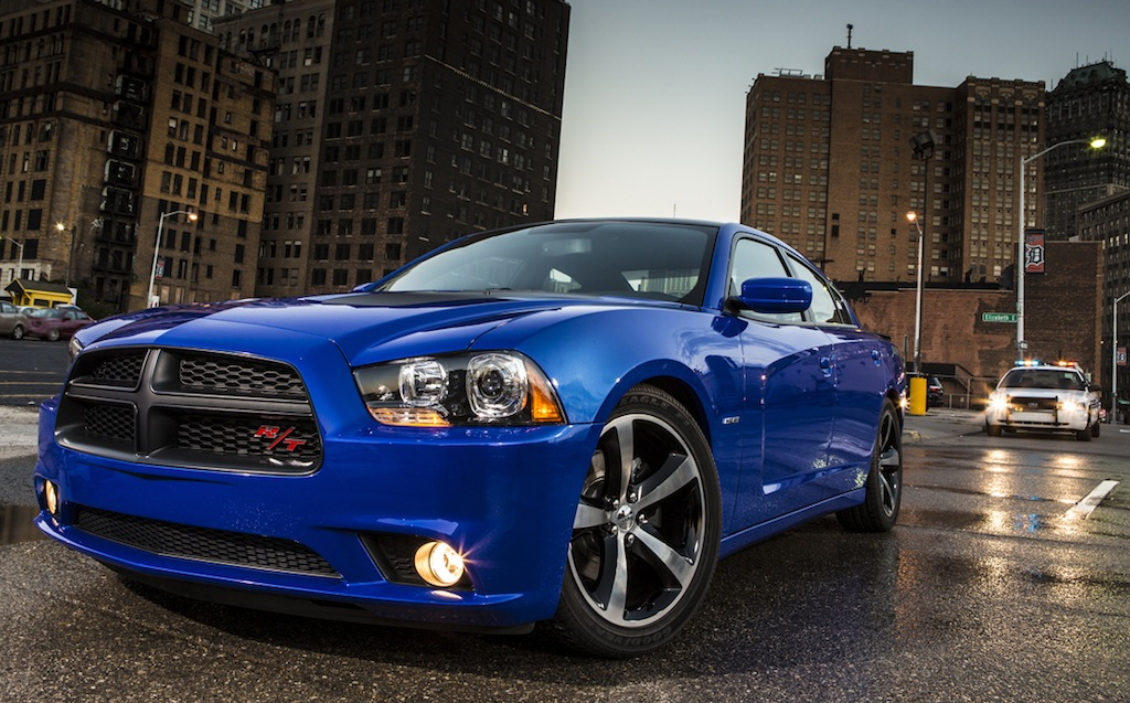 2013 Dodge Charger Daytona with Police