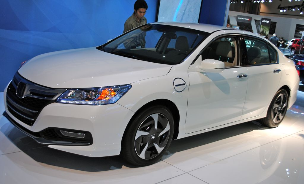 Perfect 2012 LA: 2014 Honda Accord Plug In Hybrid Main