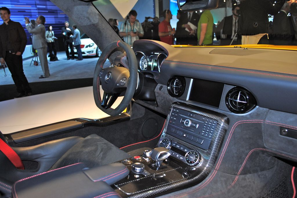 2012 la 2014 mercedes benz sls amg black series interior