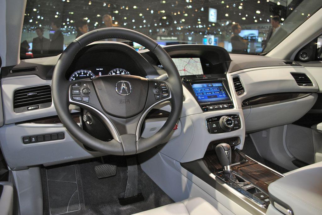 2012 La 2014 Acura Rlx Driver Interior View Egmcartech