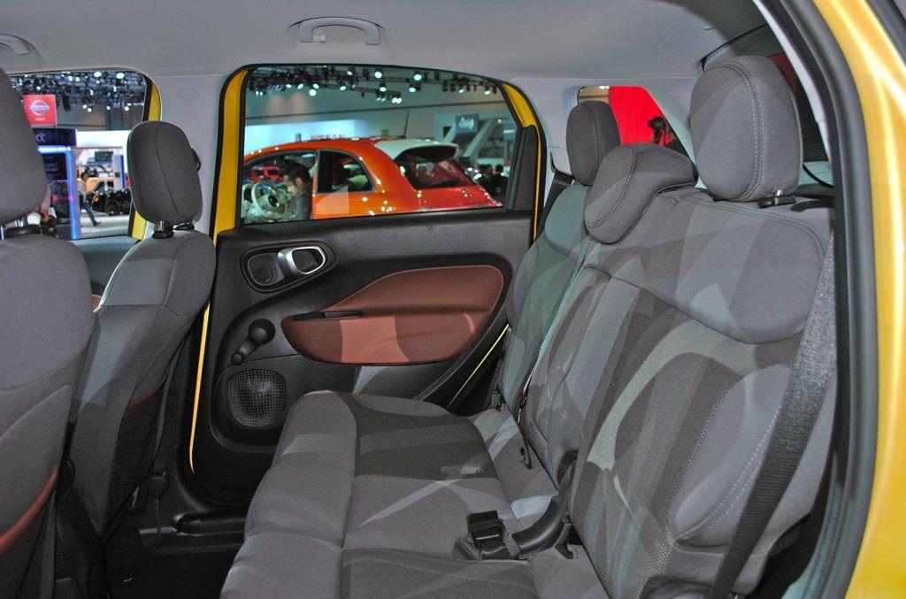 2012 LA: 2014 Fiat 500L Trekking Rear Seats - egmCarTech
