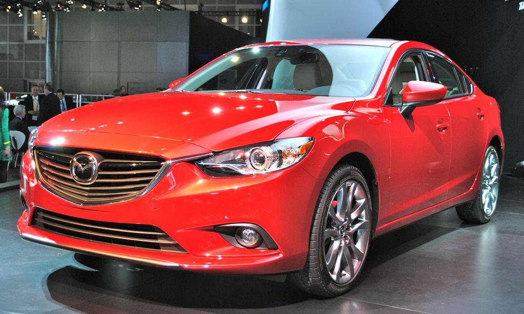 2012 LA: 2014 Mazda6 Front 3/4 View - egmCarTech