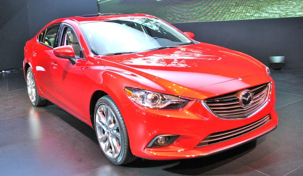 2012 LA: 2014 Mazda6 Front Top View