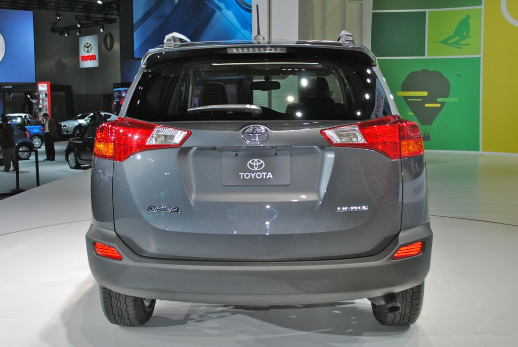 2012 LA: 2014 Toyota RAV4 Rear View