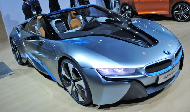 2012 LA: BMW i8 Spyder Concept goes topless in LA