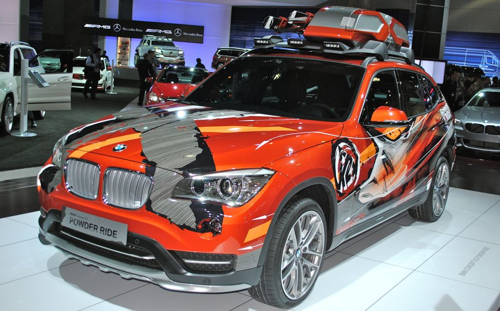 2012 LA: BMW X1 K2 Power Ride Concept Main