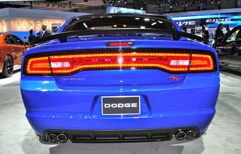 2012 la 2013 dodge charger daytona rear view - 2013 Dodge Charger Daytona