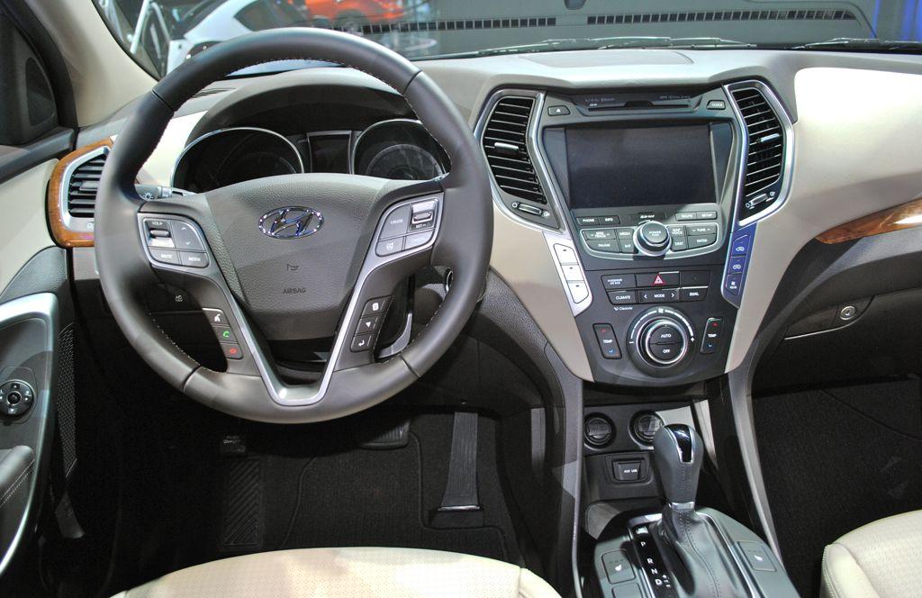 2012 La 2013 Hyundai Santa Fe Interior Egmcartech
